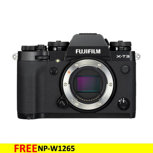 Fujifilm Mirrorless Digital Camera X-T3  Body only - Black
