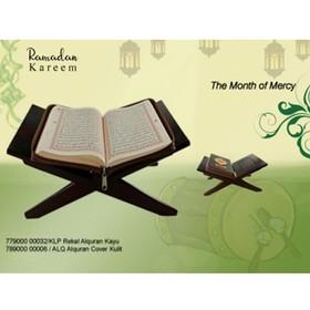 Al-Qur'an Cover Kulit + Rek