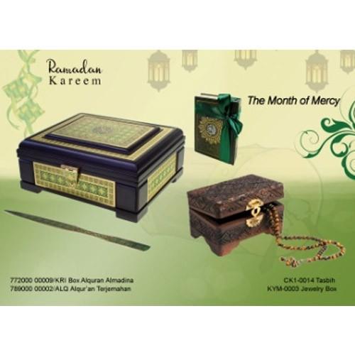 Al-Qur'an Terjemah + Box Al-Qur'an Almadina