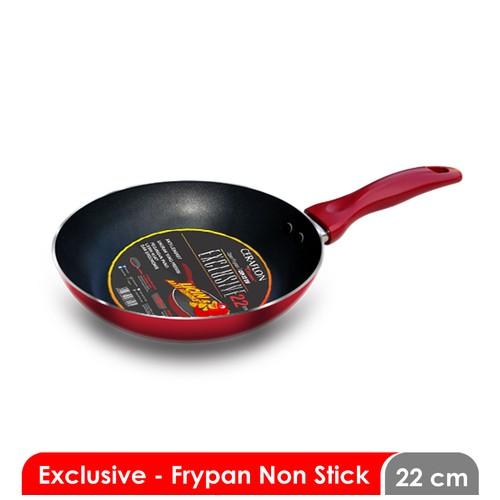 Cosmos CFP 22 EX F - Frying Pan 22 cm - Non Stick Exclusive
