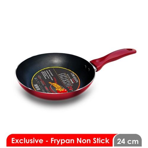 Cosmos CFP 24 EX F - Frying Pan 24 cm - Non Stick Exclusive