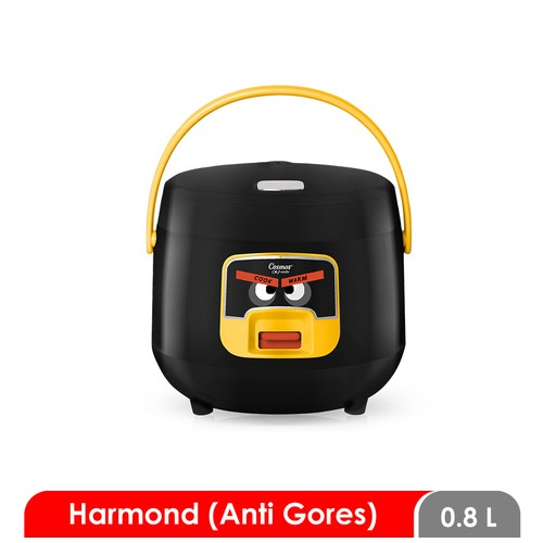 Cosmos Harmond CRJ-6601 - Rice Cooker 0.8 L - Black