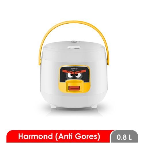 Cosmos Harmond CRJ-6601 - Rice Cooker 0.8 L - White
