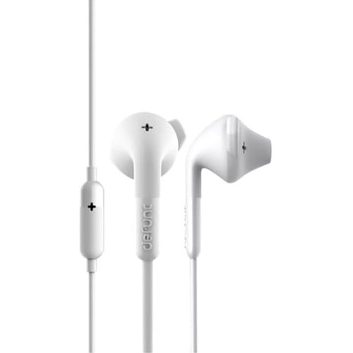 Defunc PLUS Hybrid Corded Earbud - White