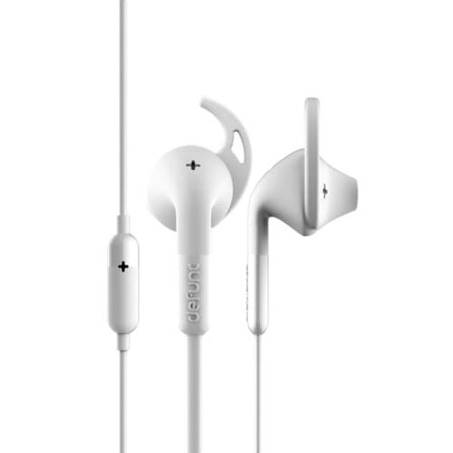 Defunc PLUS Sport Corded Earbud - White