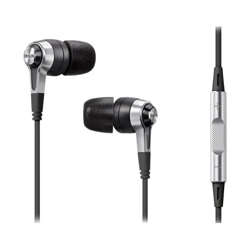 Denon In-Ear Headphones with Mic + Remote - AH-C620RBKEM
