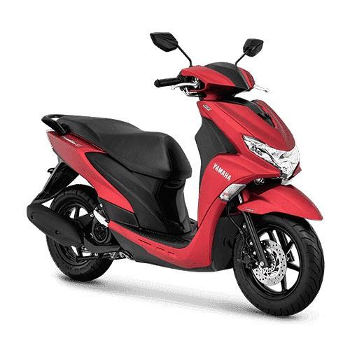 Yamaha Sepeda Motor Free GO S ABS - Matte Red (Bekasi & Depok)