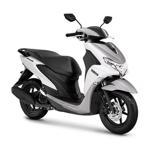 Yamaha Sepeda Motor Free GO - Metallic White (Bogor)