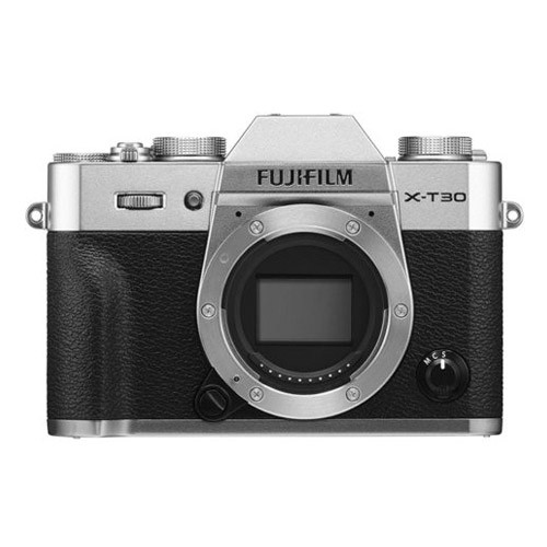 Fujifilm Mirrorless Digital Camera X-T30 Body Only - Silver