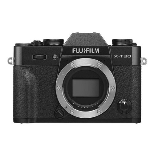 Fujifilm Mirrorless Digital Camera X-T30 Body Only - Black