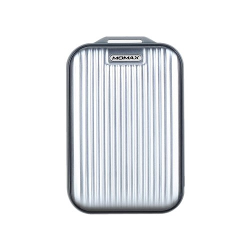 Momax iPower Go Mini 3 10,000mAh External Battery Pack - Silver