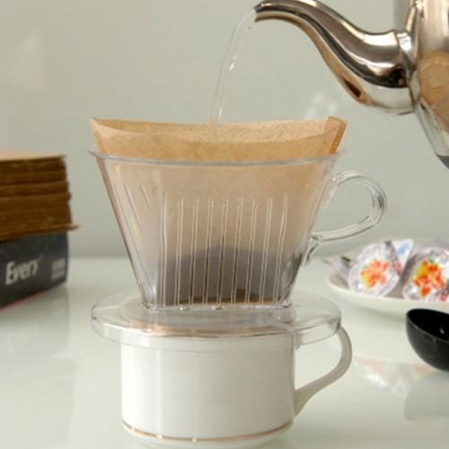 PP Resin Filter Cup Coffee Dripper (Penyaring Kopi)