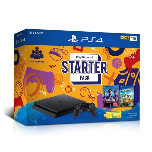 Sony PlayStation 4 Starter Pack 1TB