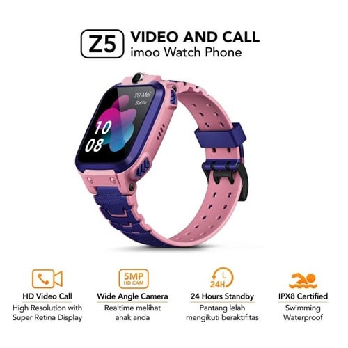 Imoo Watch Phone Z5 - Pink