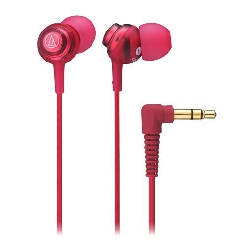 Audio Technica In-ear Headphone ATH-CKL202 - Red