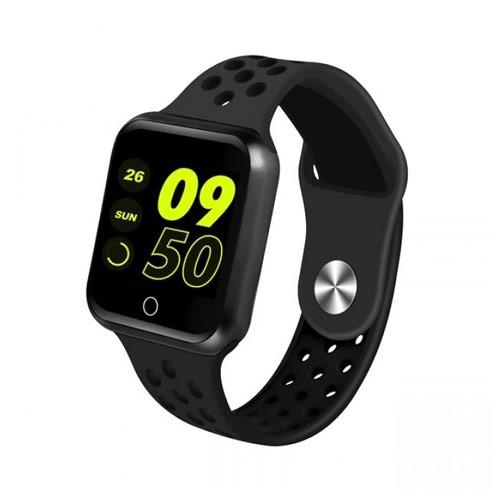 Rockware Bluetooth 1P67 Waterproof Sporty Smartwatch RW-S226 - Black
