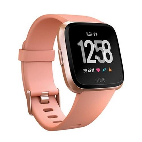 Fitbit Versa Smartwatch - Peach/Rose Gold