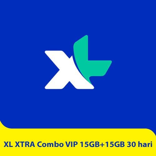 XL XTRA Combo VIP 15GB+15GB - 30 hari
