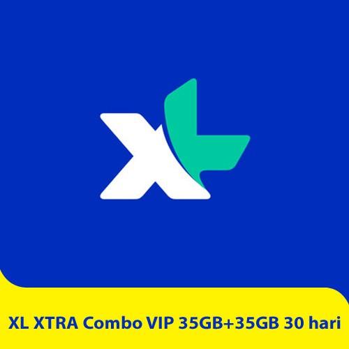 XL XTRA Combo VIP 35GB+35GB - 30 hari