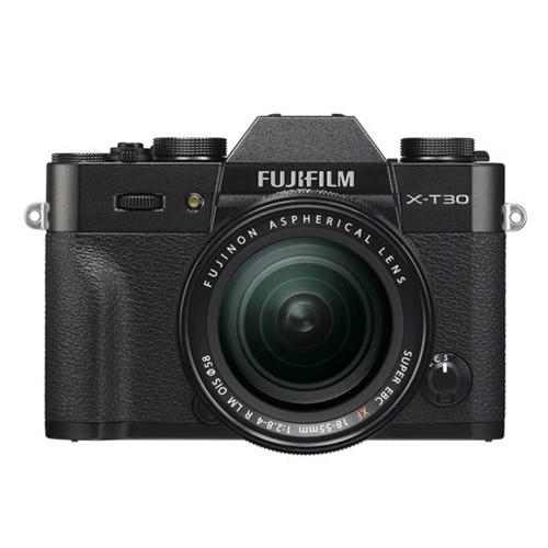 Fujifilm Mirrorless Digital Camera X-T30 with Lens Kit XF 18-55mm - Black