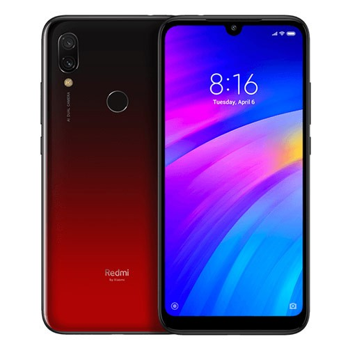 Xiaomi Redmi 7 (RAM 3GB/32GB) - Red