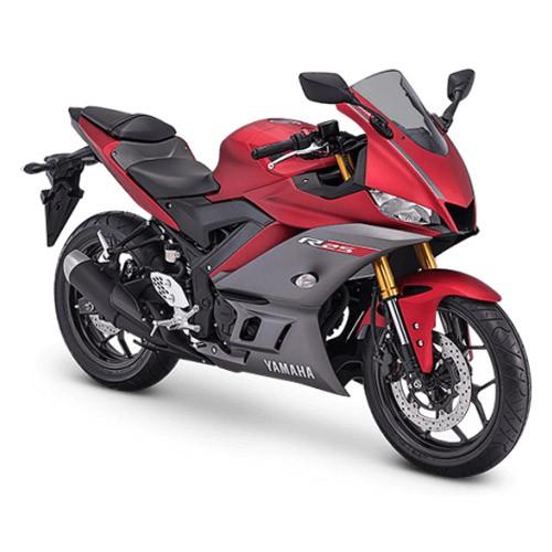 Yamaha Sepeda Motor New YZF R25 ABS - Matte Red (Bekasi & Depok)