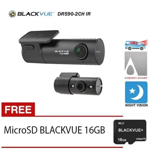 Blackvue Dashcam DR 590-2CH IR - Free 16GB
