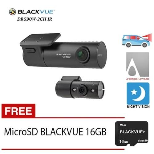 Blackvue Dashcam DR 590W-2CH IR - Free 16GB