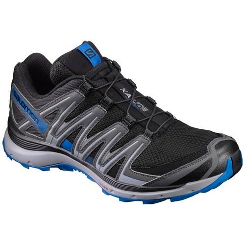 Salomon Xa Lite Sepatu Running Pria - Black/Quiet Shadow/Imperial Blue