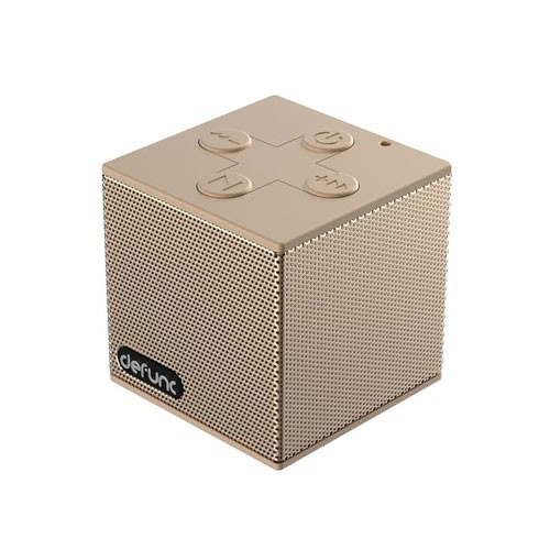 Defunc Travel Bluetooth Speaker - Gold