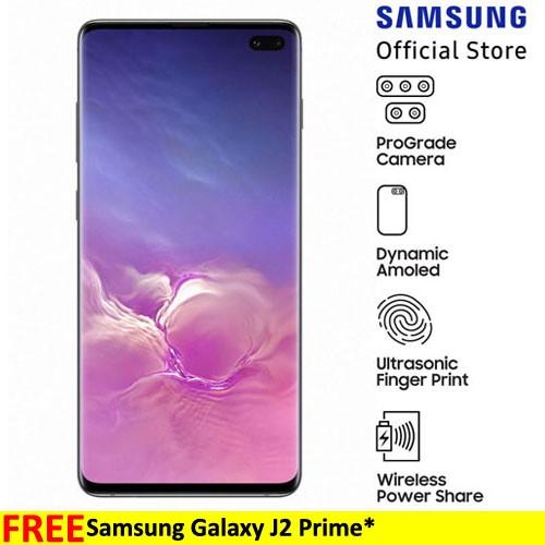 Samsung Galaxy S10+ Prism Black (128GB)