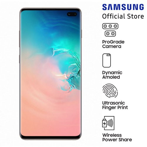 Samsung Galaxy S10+ Prism White (128GB)