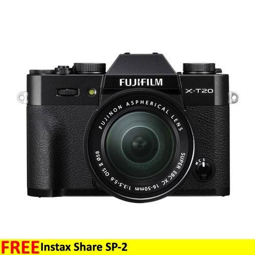 Fujifilm Mirrorless Digital Camera X-T20 KIT 16-50mm - Black