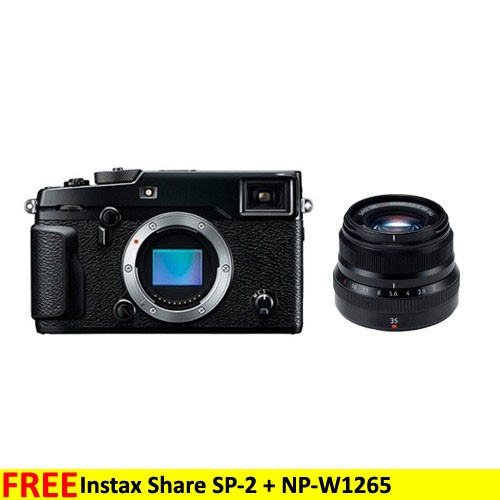 Fujifilm Mirrorless Digital Camera X-PRO2 - Black + XF 35mm Lens