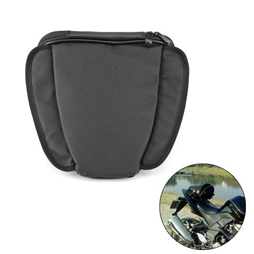 Tas Motor Touring Back Seat Tail Storage Bag - 666 - Black