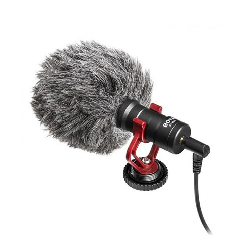 Boya Shotgun Universal Cardioid On-Camera Mini Microphone - BY-MM1