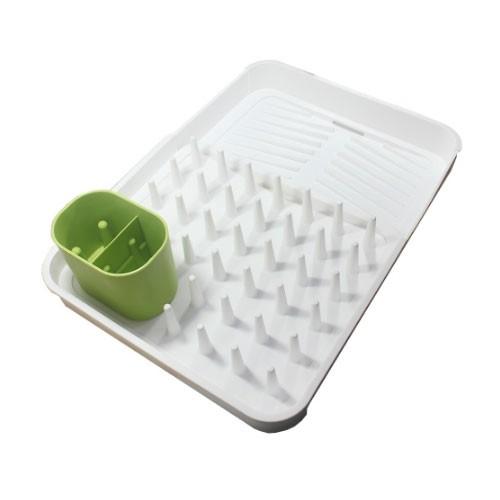 Expandable Dish Rack (Rak dan Pengering Piring Gelas)