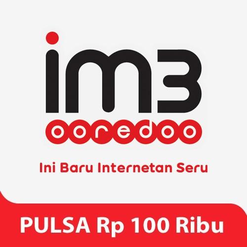 Indosat Pulsa Rp. 100.000