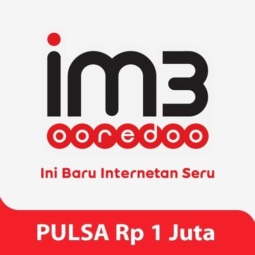 Indosat Pulsa Rp. 1.000.000