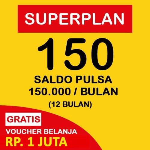 Indosat Super Plan 150 (12 Bulan) - Starterpack
