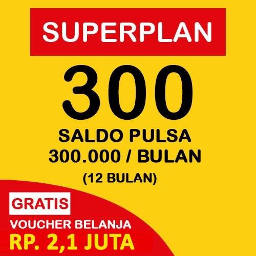 Indosat Super Plan 300 (12 Bulan) - Starterpack