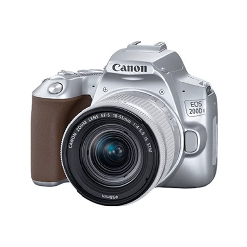 Canon EOS 200D II with Lens Kit EF-S 18-55mm - Silver