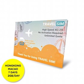Travelsim Card Hongkong Mac