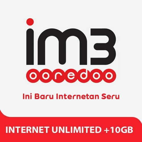 Indosat Paket Internet Unlimited +  10GB