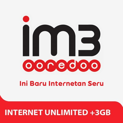 Indosat Paket Internet Unlimited + 3GB