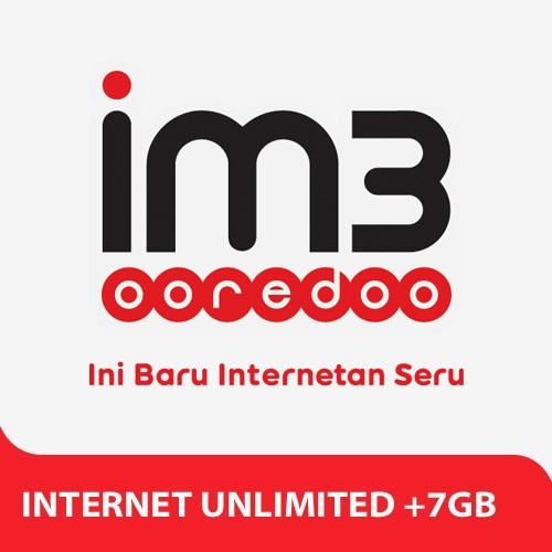 Indosat Paket Internet Unlimited + 7GB