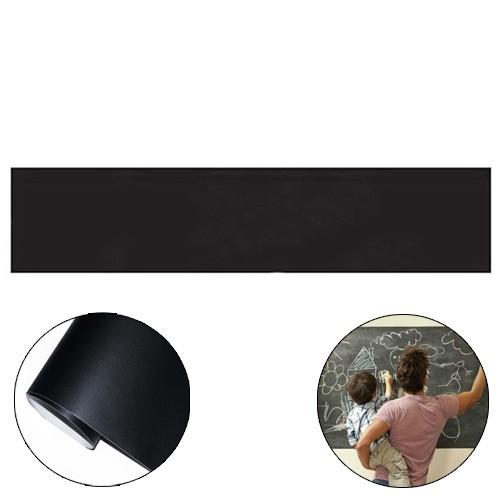 H&F Stiker Dinding Papan Tulis Kapur Flexible - Black (Buy 1 Get 2)