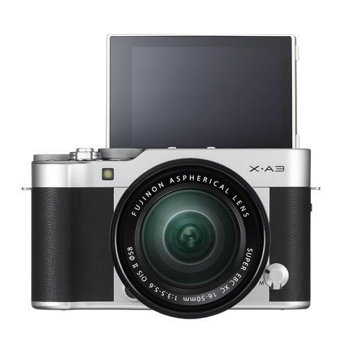 Fujifilm Mirrorless Camera X-A3 16-50mm Lens Kit - Silver