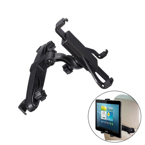 Adjustable Head Rest Car Back Seat For iPad