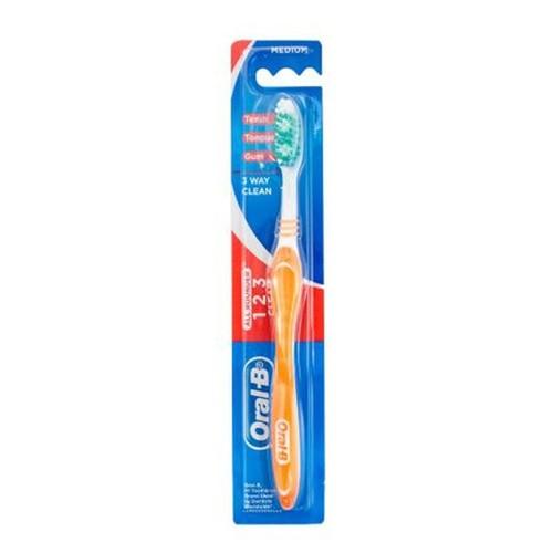 Oral-B Sikat Gigi 123 Medium 1S
